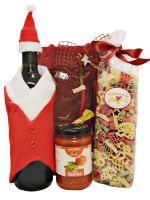 Weihnachtsgeschenk Pasta und Bardolino