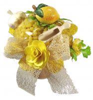 Nudelstrauß Zitrone