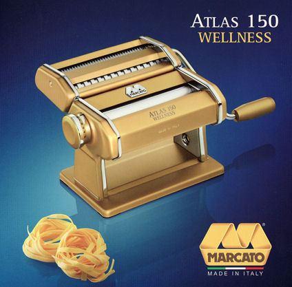 nudelmaschine atlas 150mm gold pasta als kunden und. Black Bedroom Furniture Sets. Home Design Ideas