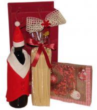 Weihnachtsgeschenk Vino & Marzipan