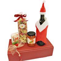 Weihnachtsgeschenk Santa im Präsentkarton