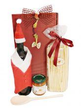 Weihnachtsgeschenk Marzipan e Vino