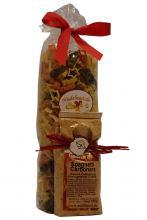 Wichtelpräsent mit Weihnachtsnudeln & Carbonara Pastagewürz