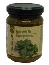Bio Pesto Verde mit Basilikum
