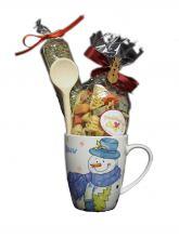 Präsente Weihnachtsnudelsuppe