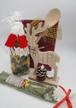 Weihnachtsgeschenk Rentier